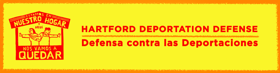 Hartford Deportation Logo